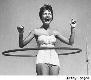 hula-hooping
